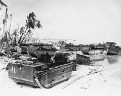 LVT Salvage Area - Tarawa (afigallo) Tags: war pacific wwii amtrak ww2 marines engineers tarawa lvt betio