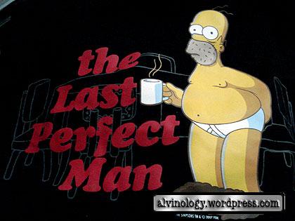 Homer Simpsons tee-shirt