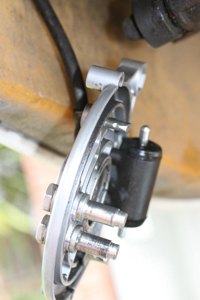 Brake backplate