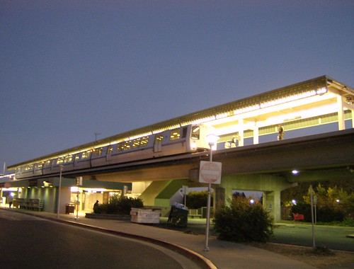 BART @ Bayfair Station, 2007