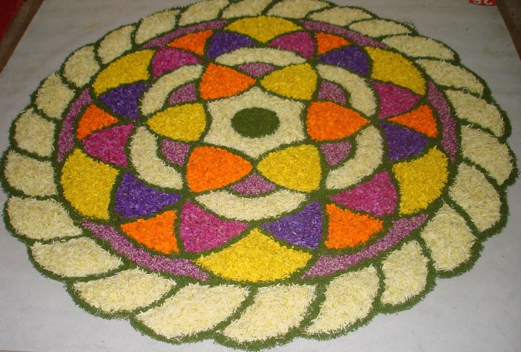 Floral art-Pookalam-Kerala-india-31