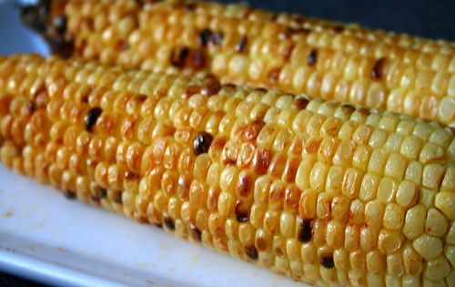 Bhutta: roasted corn