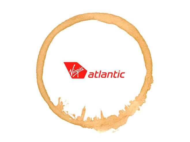 virgin atlantic pattern by Jamie Wieck