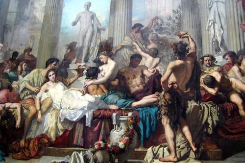 Paris - Musée d'Orsay: Thomas Couture's Romains de la décadence