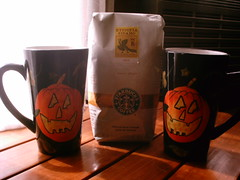 starbucks flavor of the week (shebrews) Tags: halloween coffee starbucks