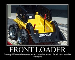 Caterpillar Front Loader Ride-On Vehicle