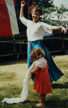 Dancing with Child