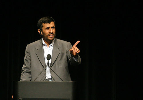 Ahmadinejad at Columbia 2007