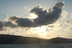 Sunset (Ricky100) Tags: sunset clouds tramonto nuvole mare estate sole sicilia tindari