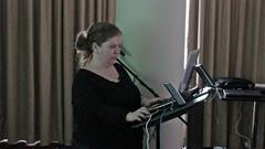 Jo presenting