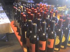 I'm sorting wine!
