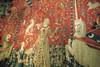 """Paris - Latin Quarter: Musée national du Moyen Age - La Dame à la Licorne - """"A Mon Seul Désir"""" (wallyg) Tags: paris france museum europe medieval musée muséenationaldumoyenage middleages cluny tapestry latinquarter muséedumoyenage quartierlatin muséedecluny moyenage moyenÂge muséenationaldumoyenÂge hôteldecluny museedumoyenage ladameàlalicorne museedecluny hoteldecluny museenationaldumoyenage museumofthemiddleages muséeclunyparis museeclunyparis amonseuldésir amonseuldesir muséedumoyenÂge ladamealalicorne theladywiththeunicorn tomyonlydesire"""