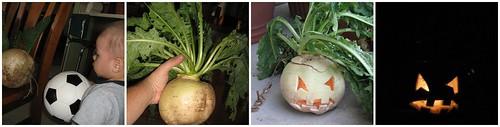 turnip carving