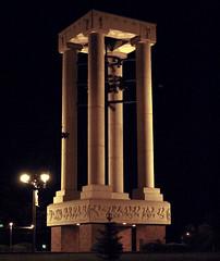 Ring my chimes (FlowrBx) Tags: nightphotography bells campus nebraska availablelight belltower unk kearney flowrbx universityofnebraskaatkearney