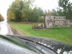 Entrance to the Porkies (Buckshot Landing, Michigan, United States) Photo