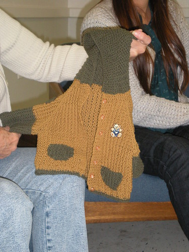 chaquetita hecha por pilar