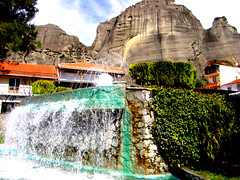 Kalambaka fountain (ptg1975) Tags: water fountain hellas greece meteora kalambaka trikala  thessalia  mywinners anawesomeshot