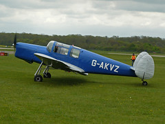 G-AKVZ (QSY on-route) Tags: kemble egbp gvfwe gakvz greatvintageflyingweekend 09052010