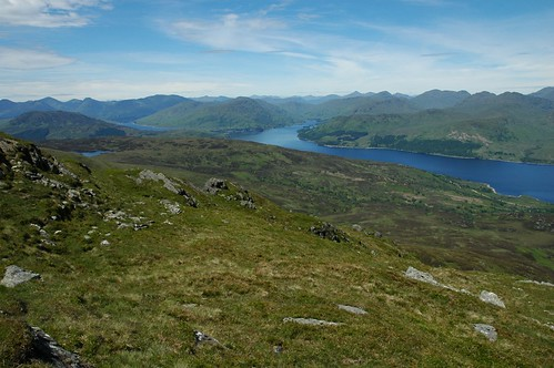 Loch Katrine from Ben Venue