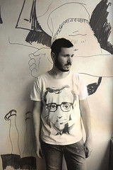 Life is a tragic comedy (Left-koz) Tags: light boy portrait man muro wall model uomo ritratto luce ragazzo modello onmelancholyhill