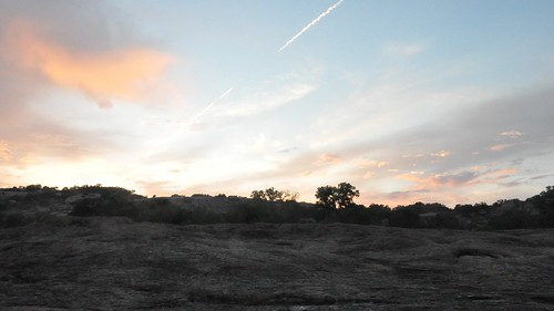 Enchanted Rock SP at sunset