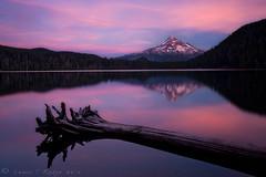 Lost (Lance Rudge) Tags: sunset lake oregon landscape colorful mthood tranquil lostlake nikond3 lancerudge