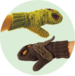 WIN a pair of frog vs fly mittens