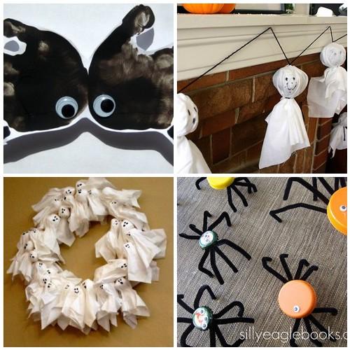 Kids Halloween Crafts Mosaic