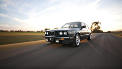 God's Chariot (Neil Prasad) Tags: sunlight blur sexy photo shot god automotive rig bmw 325 rolling chariot e30 rigs neil1138