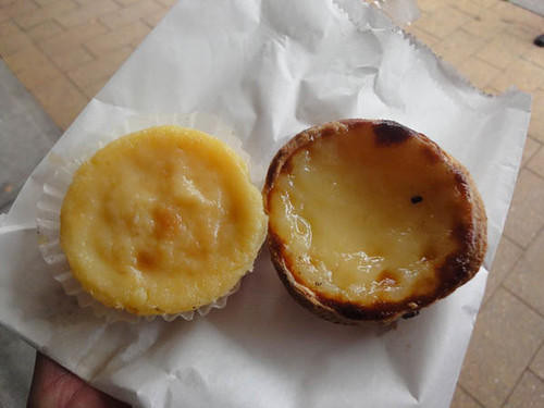 Fernandes Patisserie: Baked custard & Portuguese tart