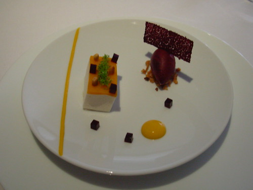 The Fat Duck - Mongo and Douglas Fir Puree