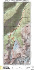 Colchuck Peak Route