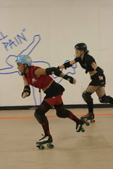 (aliris05) Tags: girls coast space capital rollergirls melbourne roller tallahassee punishment derby slashers