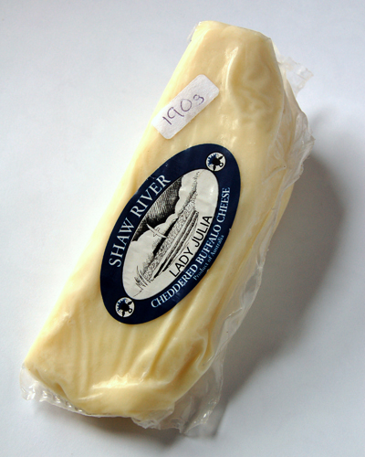 Lady Julia Cheddered Buffalo Cheese© by Haalo