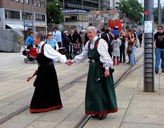 Its only love... (applewei) Tags: gay people love oslo norway lesbian folk parade homo bunad 2007 kjrlighet mennesker skeivedager canons5is
