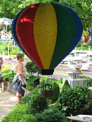 Ballon aufgenommen im legoland billund