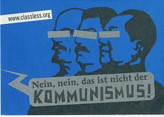 Nein nein das ist nicht der Kommunismus