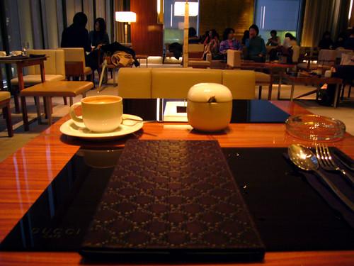 Ginza Gucci Cafe