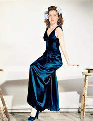 Lynn Bari (colorized)