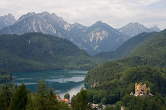 Hohenschwangau (Pug!) Tags: mountain castle freeassociation germany bavaria europe schloss hohenschwangau fssen bavarianalps romanticroad romantischestrasse