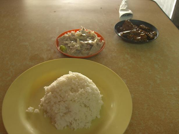2nd Day Lunch