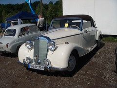 Mercedes Benz 170 S Convertible (alvial111) Tags: white germany mercedes benz convertible s 170