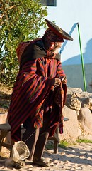Roadside Knitter (LollyKnit) Tags: peru knitting village knit andes textiles sacredvalley andean knitter chinchero