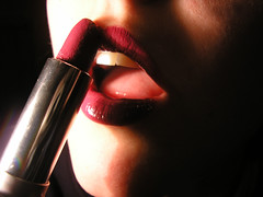 lipstick (+++ JULE +++) Tags: woman beauty face fashion mouth lips lipstick