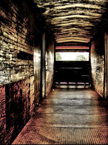 Train car inside