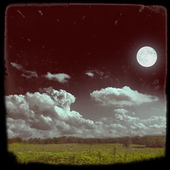 misconception of time (Adam FLiK) Tags: sky plants moon adam field grass night clouds landscape nikon day earth magic peopleschoice flik d1x naturesfinest mywinners anawesomeshot diamondclassphotographer flickrdiamond excellentphotographerawards overtheexcellence flikkema