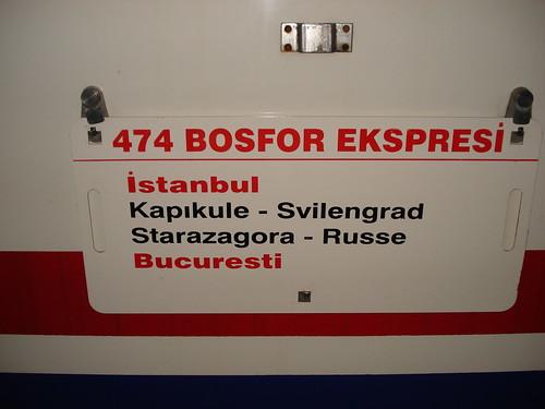 """Express"" Istanbul - Bukarest"