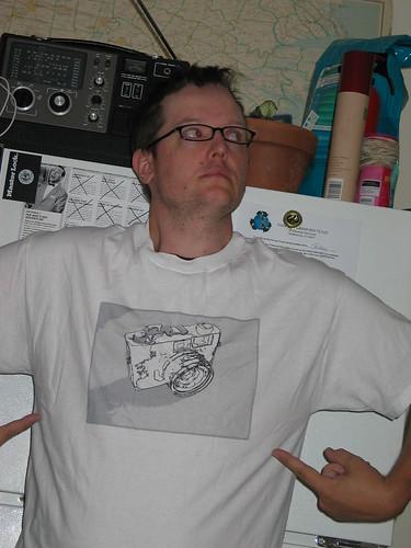 Cameraholic t-shirt