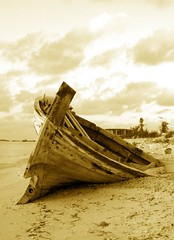 Old is gold! (shinax) Tags: maldives oldboat smallboat blueribbonwinner monochromia bohkura theperfectphotographer