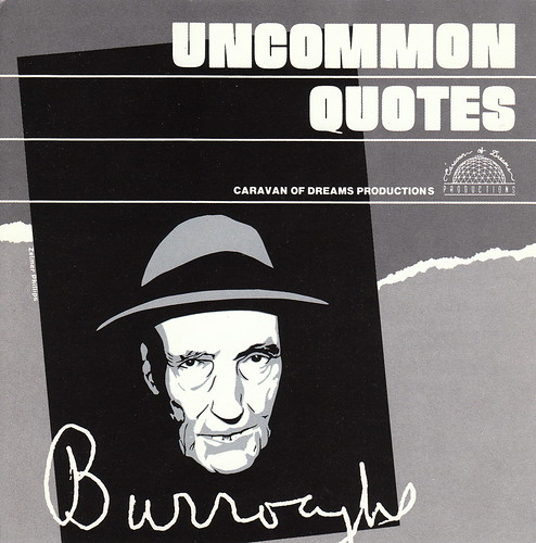 William S. Burrough: Uncommon Quotes
